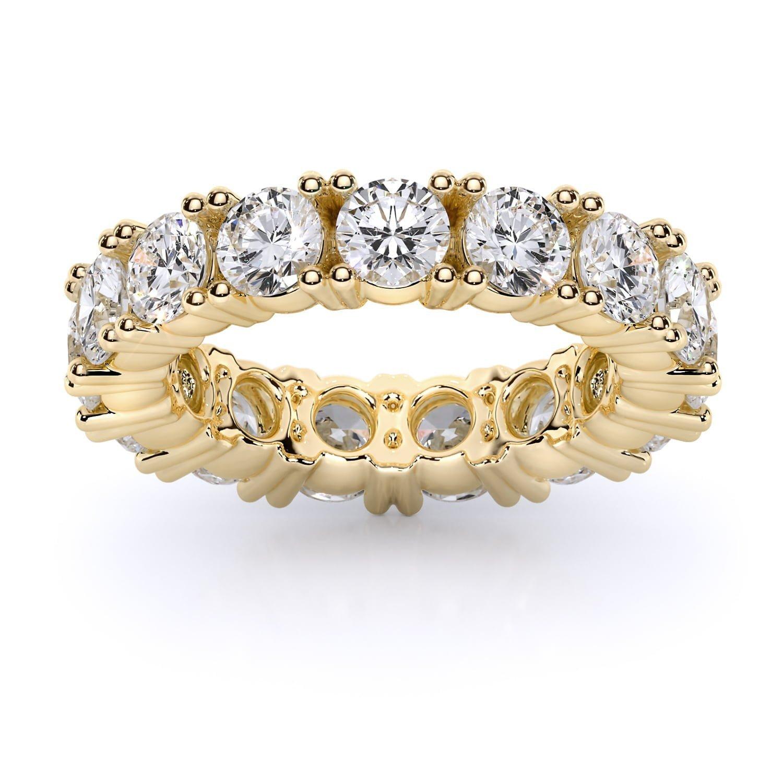Labgrown eternity band round diamonds inel SIAJ