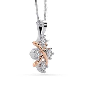 Pandantiv Din Aur Cu Diamante Lab Grown Siaj X Mc 2
