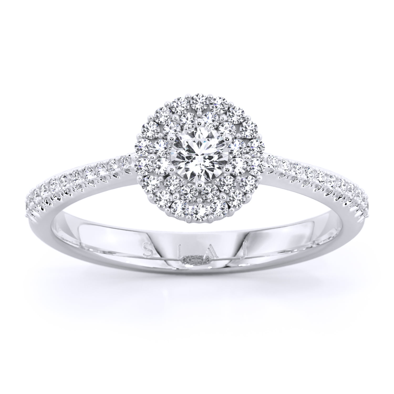 inel de logodnă din aur alb cu diamante labgrown de18kt aa312 1