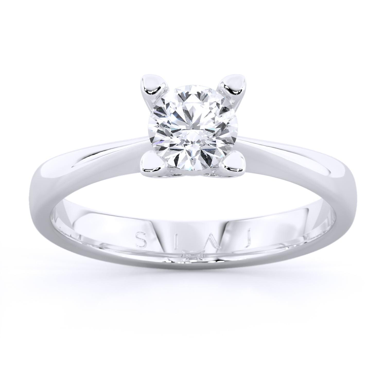 inel de logodnă din aur de 18kt aa02al 1