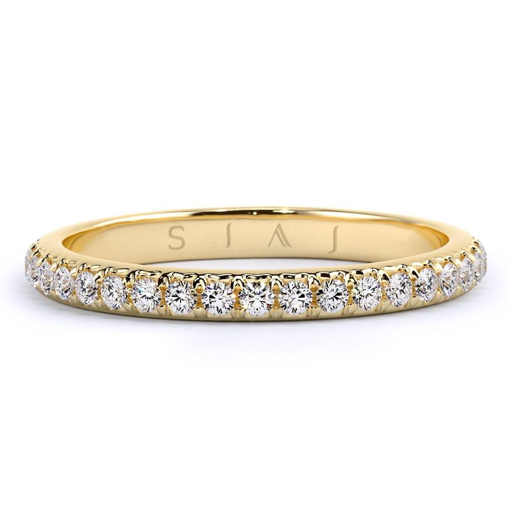 inel de logodnă din aur de 18kt aa327 2
