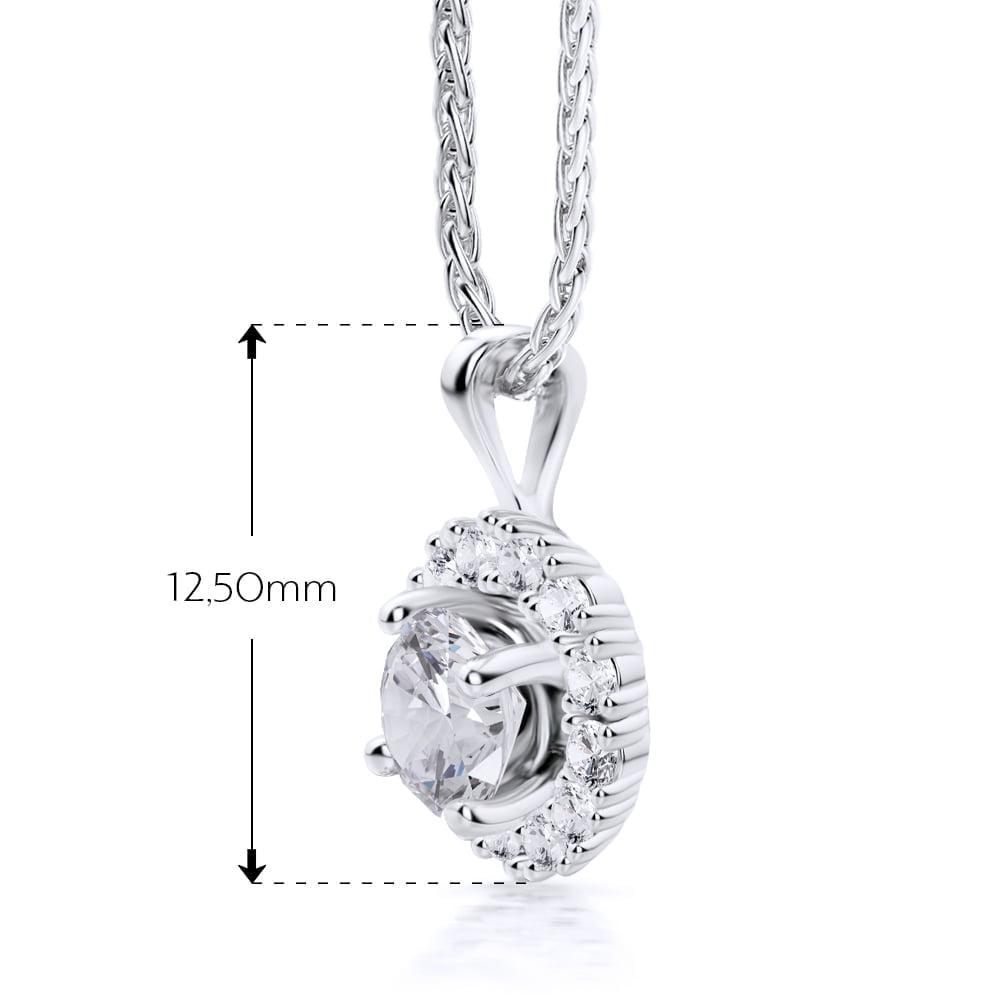 pandantiv de aur 18kt cu diamante cvd ap286dn 22
